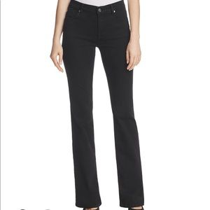 7 For All Mankind Black Flare Jeans